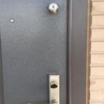 防犯のための鍵交換 小郡