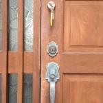 小郡 室内側も鍵でしか開かない鍵を付ける