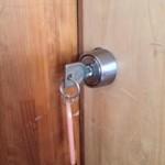 鍵の開け方