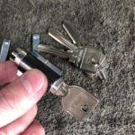 二本の鍵を一本で開けられるように