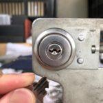 福岡 鍵が鍵穴の中で折れ込んだ!