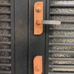 【鳥栖市 玄関の鍵を一式取替えたい。】 廃盤のため、現行の錠前に一式取替え