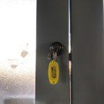 【鳥栖市 扉に開けられない鍵を付けてほしい】 内外両面鍵穴の鍵を新規取り付け