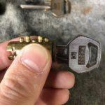 【みやき町 鍵を安く取替えたい】 鍵穴をバラしてピン組み換え